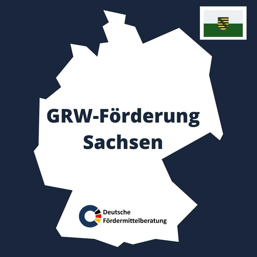 GRW Förderung Sachsen